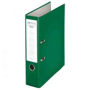 Centra Ordner Chromos DIN A4 grün 80mm breit