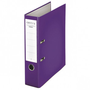Centra Ordner Chromos DIN A4 violett 80mm breit