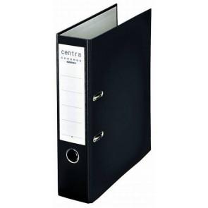 Centra Ordner Chromos DIN A4 schwarz 80mm breit