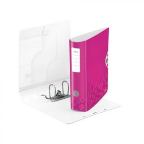 Leitz Active WOW Ordner DIN A4 pink metallic 80mm breit