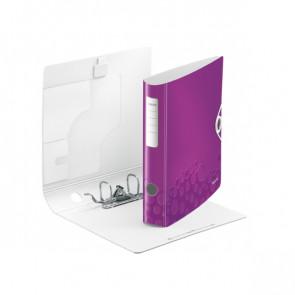 Leitz Active WOW Ordner DIN A4 violett metallic 60mm breit