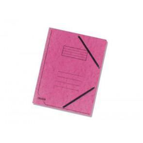 Falken Eckspanner Colorspan DIN A4 mit Gummizug fuchsia