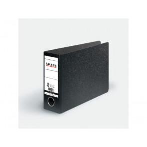 Falken Ordner DIN A5 quer schwarz 75mm breit