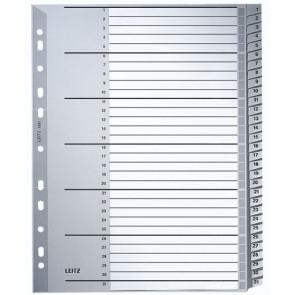 Leitz Plastik-Register 1-31 A4 1281