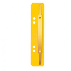 Leitz Einhänge-Heftstreifen Kurz Kart 3701 Gelb 25St