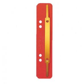 Leitz Einhänge-Heftstreifen Kurz Kart 3701 Rot 25St