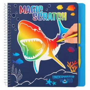Dino World Magic Scratch Book UNDERWATER || Depesche 11079