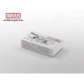 Novus Heftklammern 24-6 1000 Stück