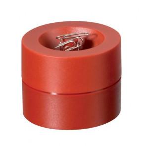 Büroklammerspender von Maul in rot magnetisch