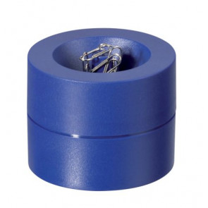 Büroklammerspender von Maul in blau magnetisch