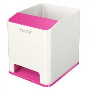 Leitz Stifteköcher Sound Wow zweifarbig pink metallic