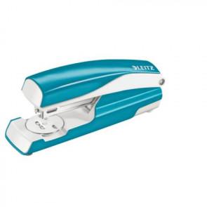 Leitz Wow NeXXt Heftmaschine 5502 blau metallic 30 Blatt