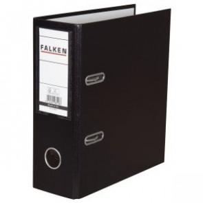 Falken Ordner DIN A5 schwarz 80mm breit