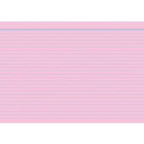 RNK Karteikarten DIN A5 rosa liniert 100St.