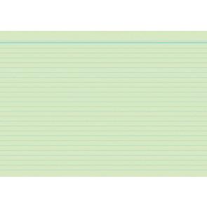 RNK Karteikarten DIN A5 grün liniert 100St.