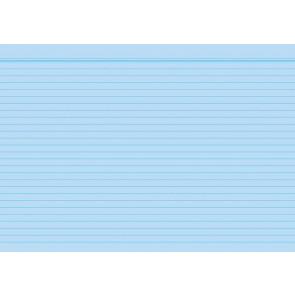 RNK Karteikarten DIN A6 Milan blau liniert 100St. 115064