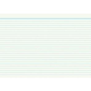 RNK Karteikarten DIN A8 weiß liniert 100St.