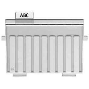 Han Trennelement für Karteikartenboxen DIN A7 quer lichtgrau 9027-11