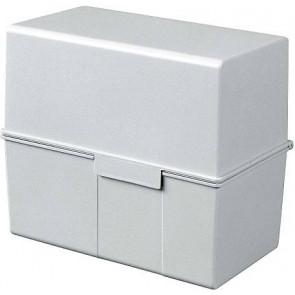 Han Karteikartenbox DIN A6 quer grau 976-11