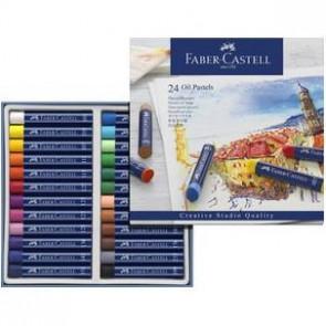Faber Castell Oel-Pastellkreide Gofa Oil Pastels 24Er Packung