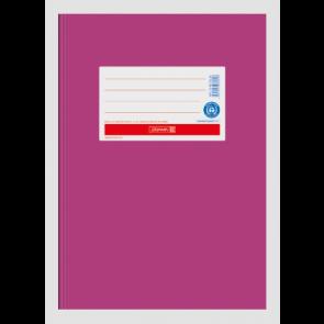 """Brunnen Heftumschlag Hefthülle Recyclingkarton DIN A5 """"pink"""" (Heftschoner)"""