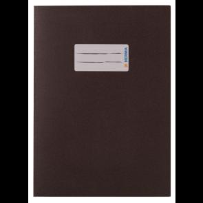 """Herma Heftumschlag Papier Recycling DIN A5 """"braun""""(Heftschoner)"""