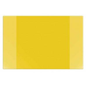 Veloflex Schreibtischunterlage gelb 40x60cm Velocolor mit seitlichen Taschen incl