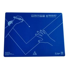 KUM Schreibtischauflage 43x50 Kunststoff Linkshänder Desk-Pad Lefty