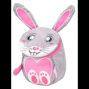 """Belmil Mini Animal Bunny Kindergarten Rucksack """"grau"""""""