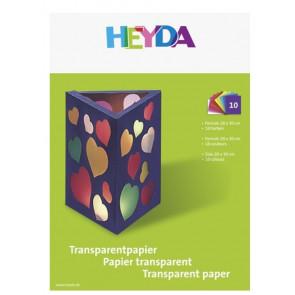 Heyda Bastelmappe A4 Transparentpapier