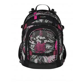 iKON Schulrucksack Pink Blossom Rucksack