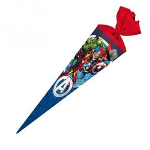 Nestler Schultüte 70cm rund Filz Avengers