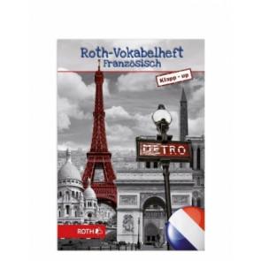Roth Vokabelheft Klapp-Up Französisch, DIN A5, 2-spaltig, schwarz/weiss