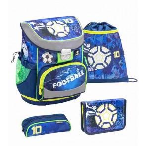 Belmil Mini-Fit Schulranzen-Set 4-teilig Soccer Sport