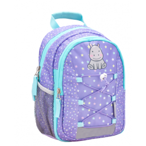 "Belmil Mini Kiddy ""Hippo"" Kindergarten Rucksack ""lila"""