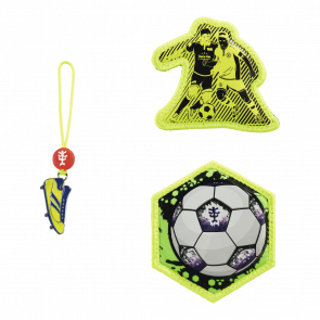 "Step by Step MAGIC MAGS Schleich Zubehör 3-teiliges Set ""Funky Soccer"""