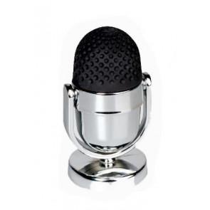 "Brunnen Dosenspitzer mit Radiergummi ""Mikrofon"" 4 x 7 cm"