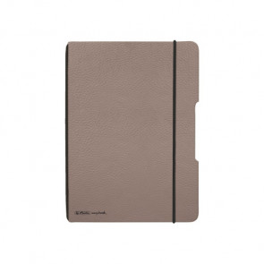 Herlitz my.book flex - Taupe Notizheft kariert A5 40 Blatt