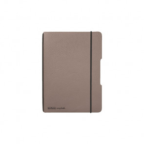 Herlitz my.book flex - Taupe Notizheft kariert A6 40 Blatt