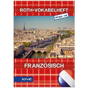 Roth Vokabelheft Klapp-Up Französisch, DIN A5, 2-spaltig, bunt