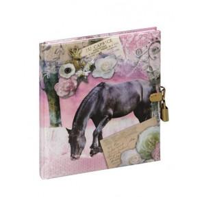 Pagna Tagebuch mit Schloss 128 Seiten Pferd La Passionata