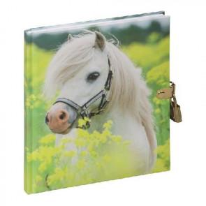 Pagna Tagebuch mit Schloss 128 Seiten Kleines Pony