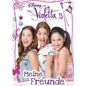 Panini Freundebuch 80 Seiten Disney Violetta 21,4x17,6cm wattierter