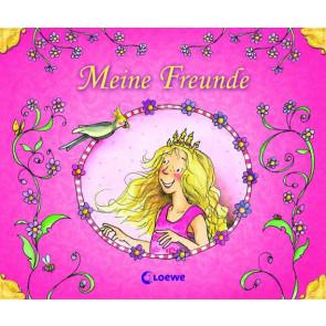 Loewe Freundebuch Prinzessin mit Glitter