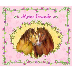Loewe Freundebuch 21,0x17,5cm Meine Freunde Pferde ab 6 Jahre