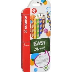 Stabilo Farbstift Easycolors 6er- Etui für Rechtshänder 3326