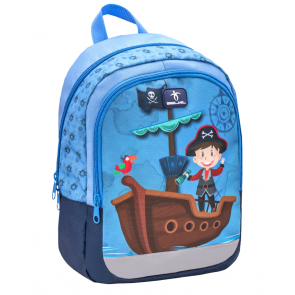 "Belmil Kiddy ""Pirates"" Kindergarten Rucksack ""blau"""