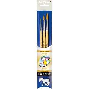 DA VINCI Pinselset Junior 3 Pinsel 2,5 und 8