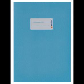 Herma Heftumschlag Papier Recycling DIN A5 Blau (Heftschoner)