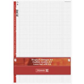Brunnen Ringbucheinlagen DIN A4 Lineatur 28 50 Blatt kariert